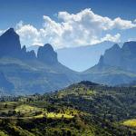 map simien mountains ethiopia